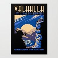 Valhalla State Park Canvas Print