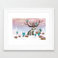 Cloudseeders Spring Harvest Framed Art Print