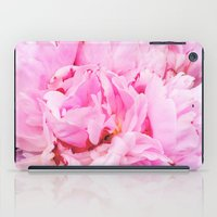 Pretty Pink Peony iPad Case