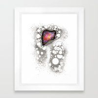 Space Cluster Framed Art Print