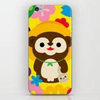 Tanuki iPhone & iPod Skin
