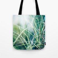 Angel Grass Tote Bag