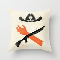 The Wandering Dead Throw Pillow