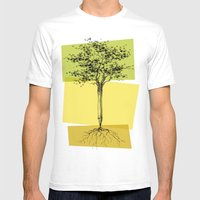Ideas Don't Grow On Trees Mens Fitted Tee White SMALL