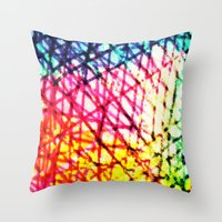 Vibrant Summer  Throw Pillow