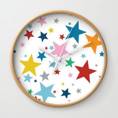 Stars Small Wall Clock