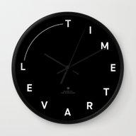 Wall Clock featuring Timetravel Wall Clock by Van Schneider X Vere…