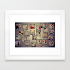 MixMotion: We're all here Framed Art Print