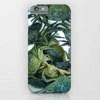 iPhone & iPod Case featuring In the crab basket by Itomi Bhaa