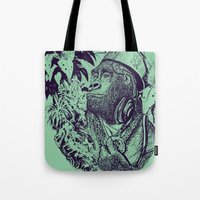 Jungle Kong Tote Bag