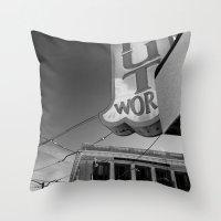 Donut World : Inner Suns… Throw Pillow