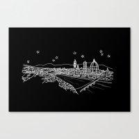 Florence (Firenze), Italy City Skyline Canvas Print