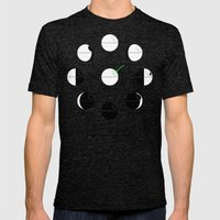That's No Moon Phases Mens Fitted Tee Tri-Black SMALL