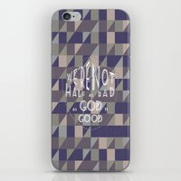 WE'RE NOT HALF AS BAD, A… iPhone & iPod Skin