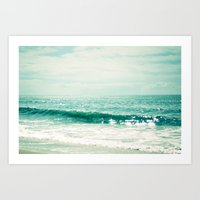 Sea of Tranquility... Art Print