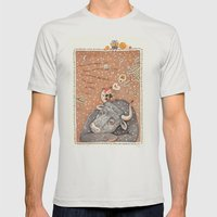 The year of OX  Mens Fitted Tee Silver SMALL