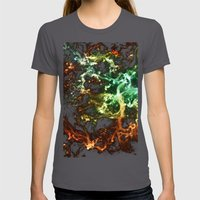 Century Womens Fitted Tee Asphalt SMALL