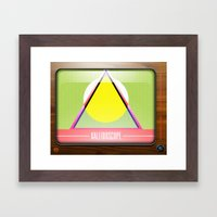 Kaleidoscope TV version A  Framed Art Print