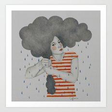 Luella Art Print