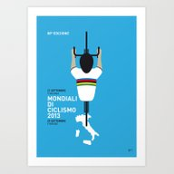 Art Print featuring MY Mondiali Di Ciclismo … by Chungkong