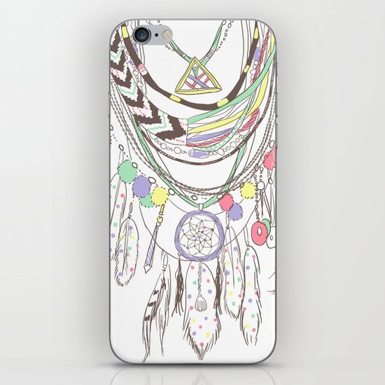 Tribal Necklace iPhone & iPod Skin