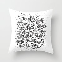 TWINKLE TWINKLE TWINKLE TWINKLE Throw Pillow
