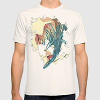 Blind Surfer Mens Fitted Tee Natural SMALL