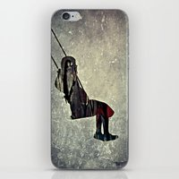 The swing (I have a bird inside me) iPhone & iPod Skin