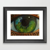 The Lizard King Framed Art Print