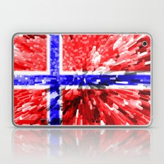 Norway Flag - Extrude Laptop & iPad Skin