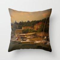 Abendstunden  Throw Pillow