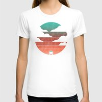 retro T-shirts featuring Go West by Picomodi