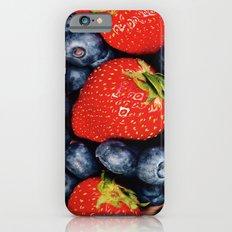 Berry Faces iPhone 6 Slim Case