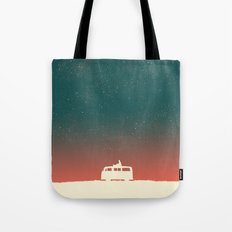 Quiet Night - starry sky Tote Bag