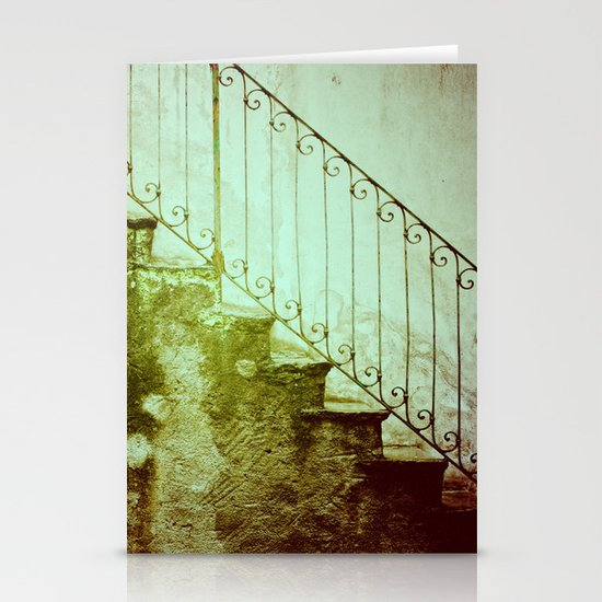 Stairs II Stationery Card
