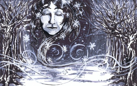 """50 Words for Snow"" by Cap Blackard Art Print"