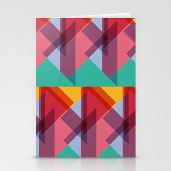 Crazy Abstract Stuff 3 Stationery Card