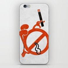 Smoke Break iPhone & iPod Skin
