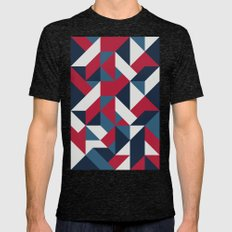 Good Day Mens Fitted Tee Tri-Black SMALL