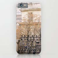 iPhone & iPod Case featuring la bicyclette by Liz Rusby