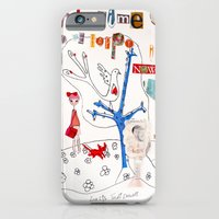 iPhone & iPod Case featuring The Time To Be Happy Is Now by Trudi Drewett Illustration