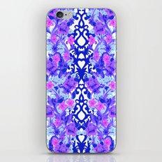 Baroque Blue iPhone & iPod Skin