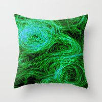 Experiment Throw Pillow