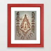 Vagamid - Lord of Fish Framed Art Print