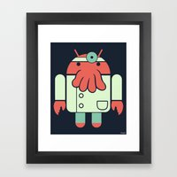 Why not Droidberg Framed Art Print
