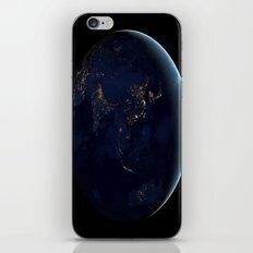 Asia at Night iPhone & iPod Skin