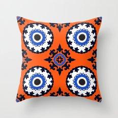 Beautiful suzani patterm Throw Pillow