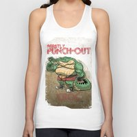 Beastly Punch-Out Unisex Tank Top