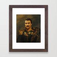 Tom Selleck - Replacefac… Framed Art Print