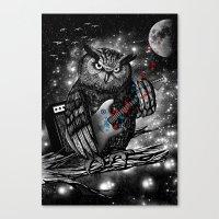 The Hoo Canvas Print